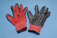 LATEX COATED CLOTH WORKGLOVES